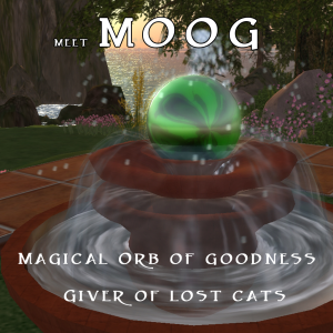 MOOG is a Magical Orb of goodness