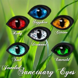 Sanctuary Eyes Jeweled
