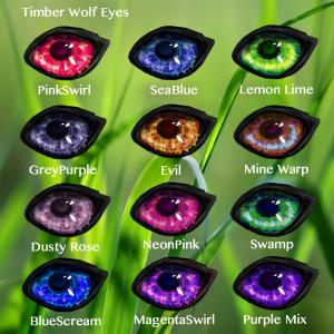 Timber Wolf Eyes