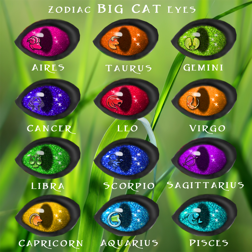 Cats Eyes And Zodiac Signs