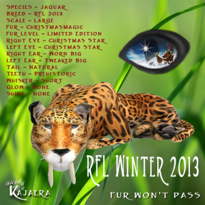 WK RFL Winter 2013