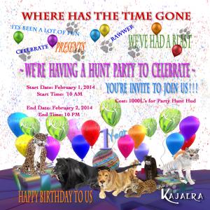 Happy Birthday Invite