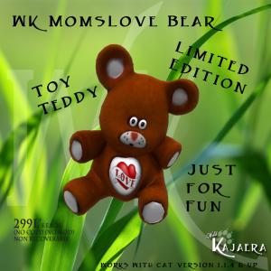 WK MomsLove Bear
