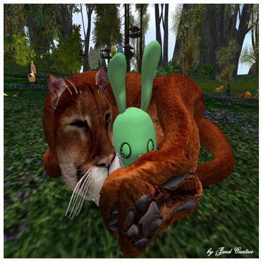 Cougar and BunnyGreen