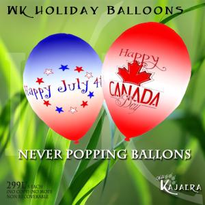 WK Holiday Balloons