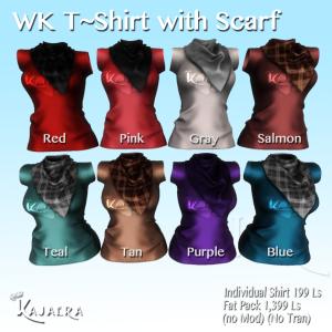 Shirt wth Scarfs