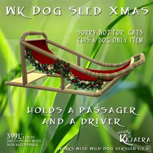 WK Dog Sled
