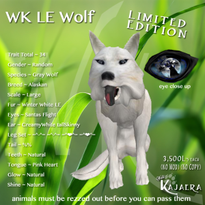 WK LE Wolf
