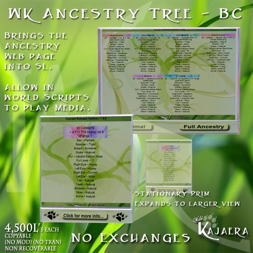 WK Ancestry Tree BC