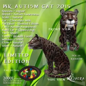 WK Autism Cat