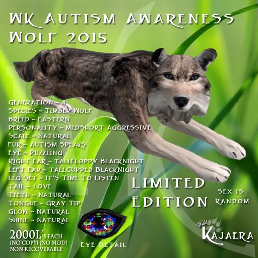 WK Autism Wolf