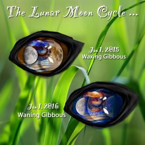 The Lunar Moon 15-16