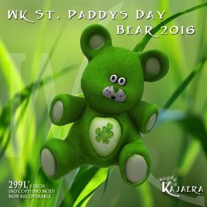 StPaddys Bear 2016