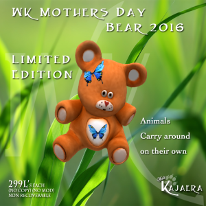 MothersDay Bear 2016