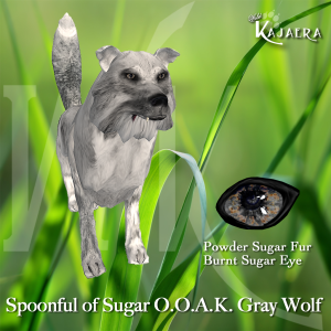 Spoonful of Sugar OOAK Gray