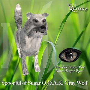 Spoonful of Sugar OOAK Gray