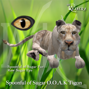 Spoonful of Sugar OOAK Tigon