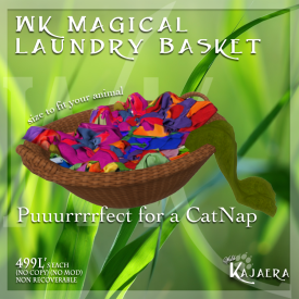 Magical Laundry Basket 2