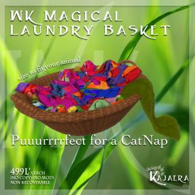 Magical Laundry Basket 2