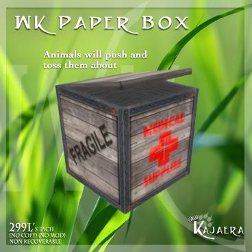 WK Paper Box SOS