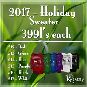 WK LV 2017XmasSweater