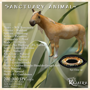 Sanctuary Palomino fixeed