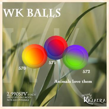 WK Balls
