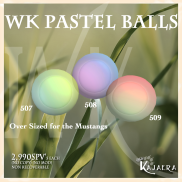 WK Pastel Balls SPV