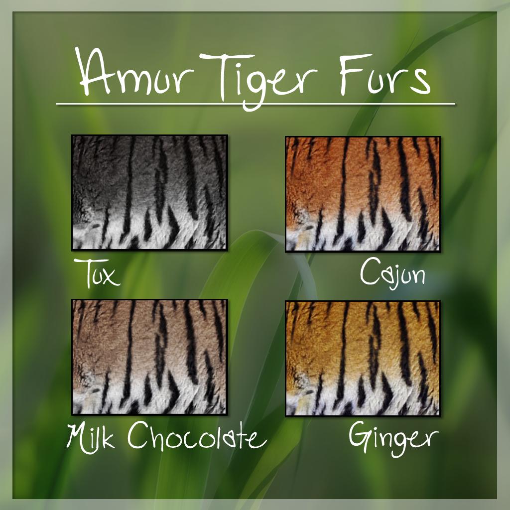 Amur Tiger Furs